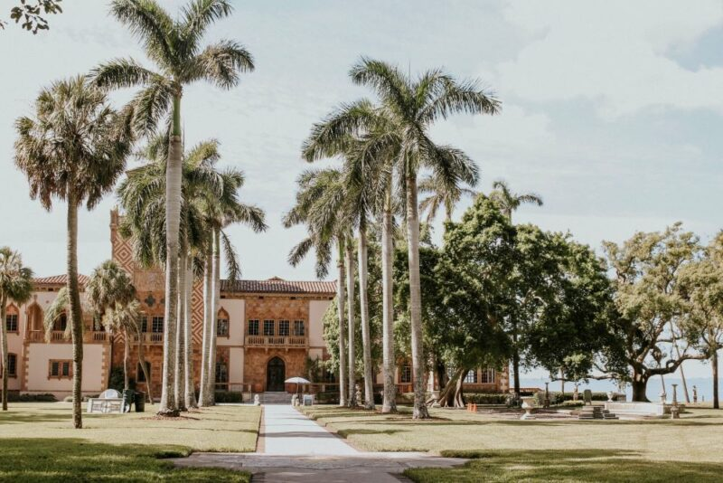 outside of the beautiful ringling