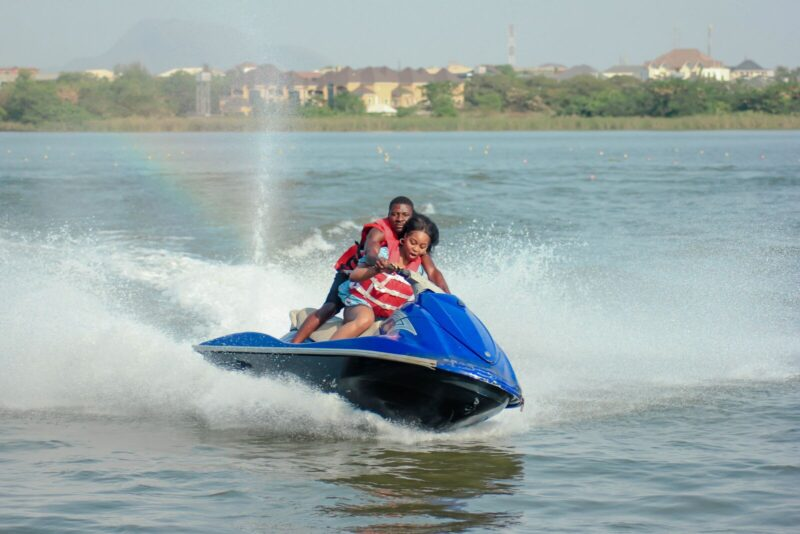 Jet Ski on the water near our Sarasota vacation rental